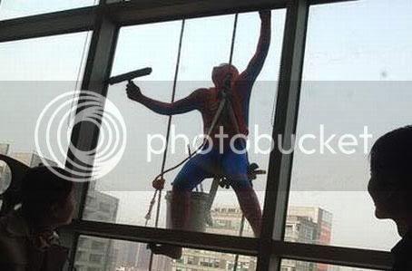รูปภาพ อาชีพเสริมของ spider man