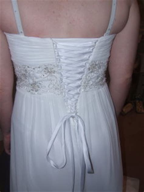Pregnant Bride Alterations For Her Wedding Dress