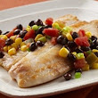 #SabrosoSaturday: Tilapia with Black Beans and Corn | Latina on a Mission
