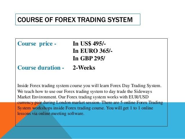 Forex Trading Tutorial - Tutorialspoint