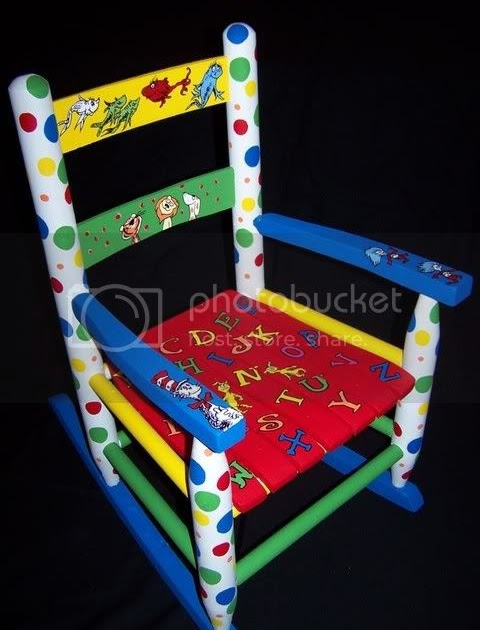 Furniture And Murals By Justpaint Dr Seuss Rocking Chair