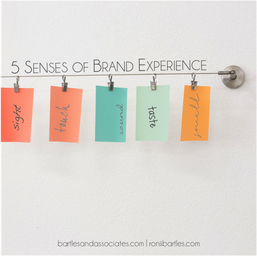 The 5 Senses of Your Clients' Brand Experience