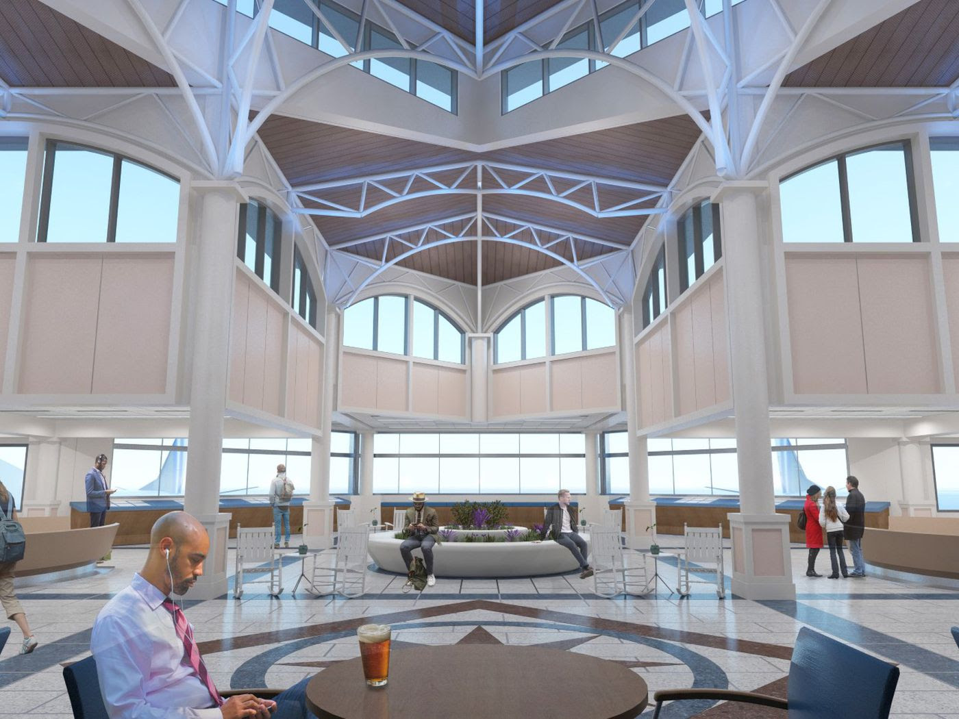 Terminal Expansion To Bring New Restaurants More Parking To Ilm