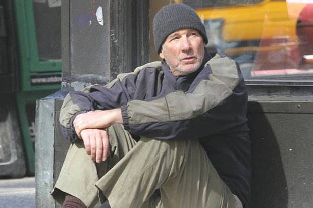 """Why Richard Gere's """"homeless"""" photo went viral: It's more common — and closer to home —than we like to think"""