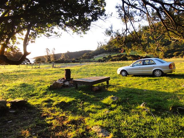 Ons camping plekje