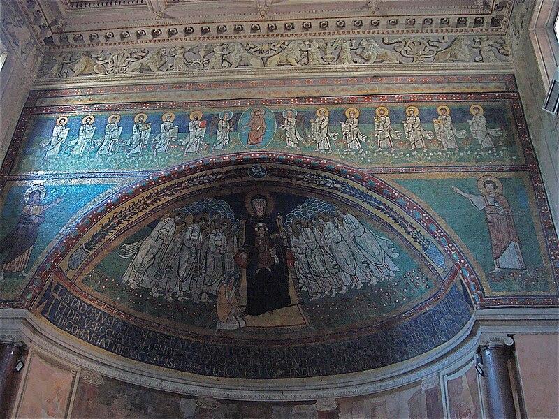 Mosaiques de l'autel.JPG