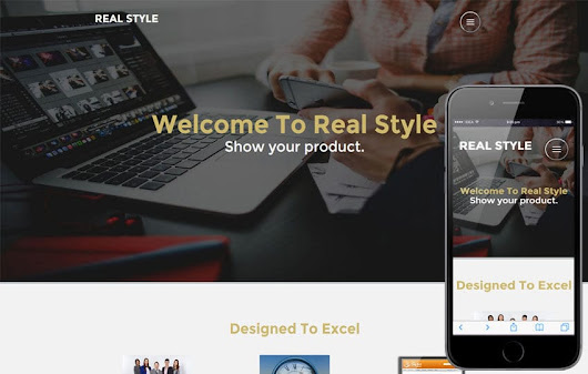 Real Style Corporate Category Flat bootstrap Responsive Web Template - w3layouts.com