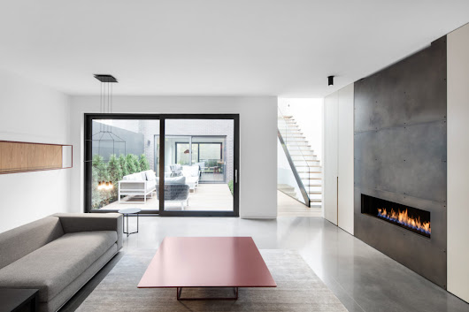 Manon Bélanger Designs a Minimalist Contemporary Home in Montreal | HomeDSGN