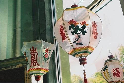 window lanterns.