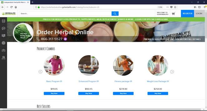 Online Game to Buying Herbalife Products | Phantasy Phish