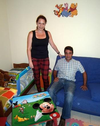 Jonay Aguilar y Rebecca Ahlborn