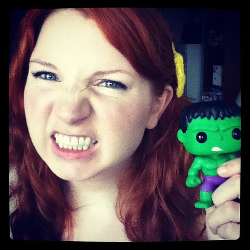 Me and Hulk. #PopVinyl #marvel