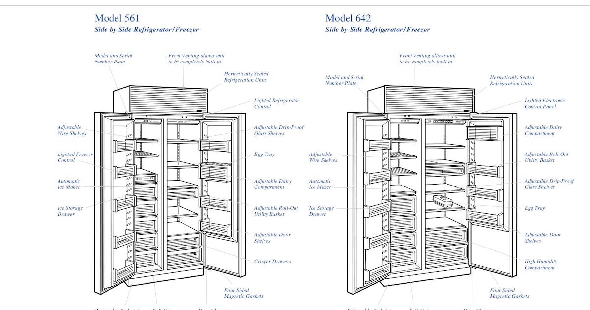 27 Sub Zero 642 Parts Diagram