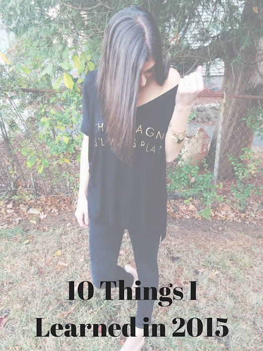 10 Things I learned in 2015 - style by liv