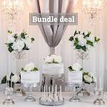 Amalfi Décor Garden Wedding Dessert Table Bundle