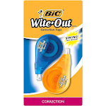 BIC Wite-Out Correction Tape, 2ct - Multicolor