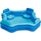 Summer Waves Inflatable Home Beach Lake 4 Person Deluxe Comfort Swimming Pool