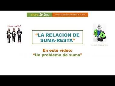 VÍDEO 3 - LA RELACIÓN DE SUMA-RESTA: resolviendo un problema de suma