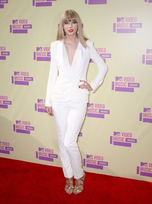 MTV Video Music Awards - Los Angeles - September 6, 2012, Taylor Swift