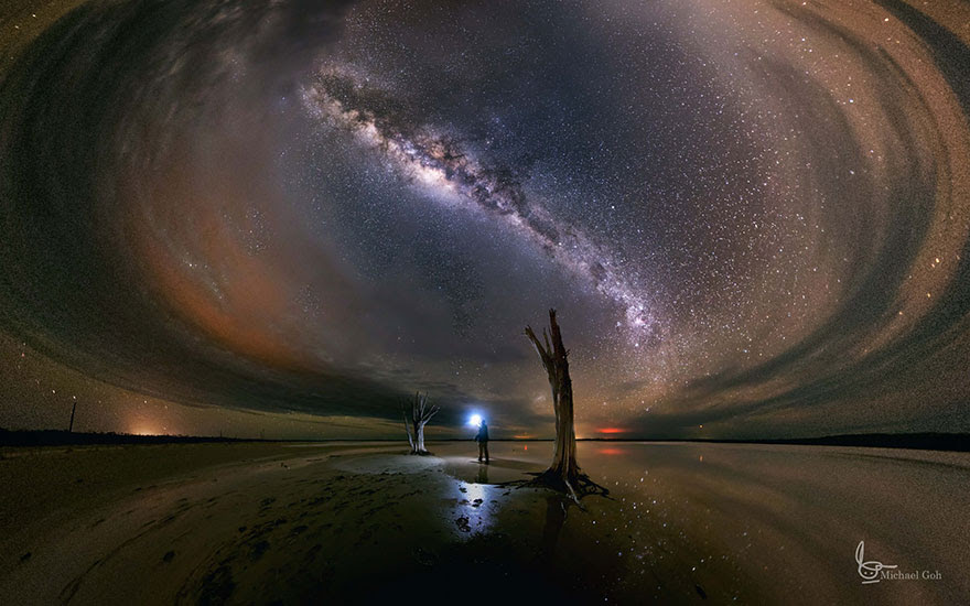 Lost In The Dark (Lake Dumbleyung, Western Australia)