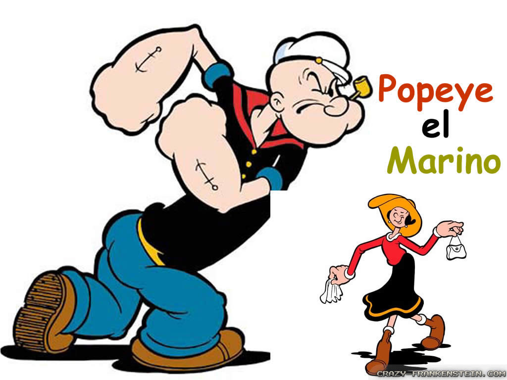 Popeye Wallpapers Crazy Frankenstein