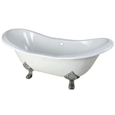 Cast Iron Or Acrylic Clawfoot Bathtub Faucetlistcom
