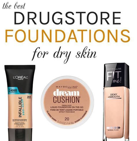 The Best Drugstore Foundations For Dry Skin, All Under $12