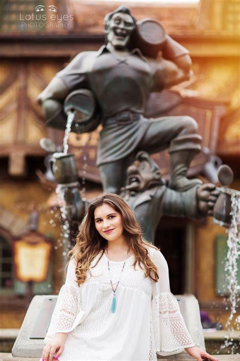 Senior Photography session at Disney's Magic Kingdom