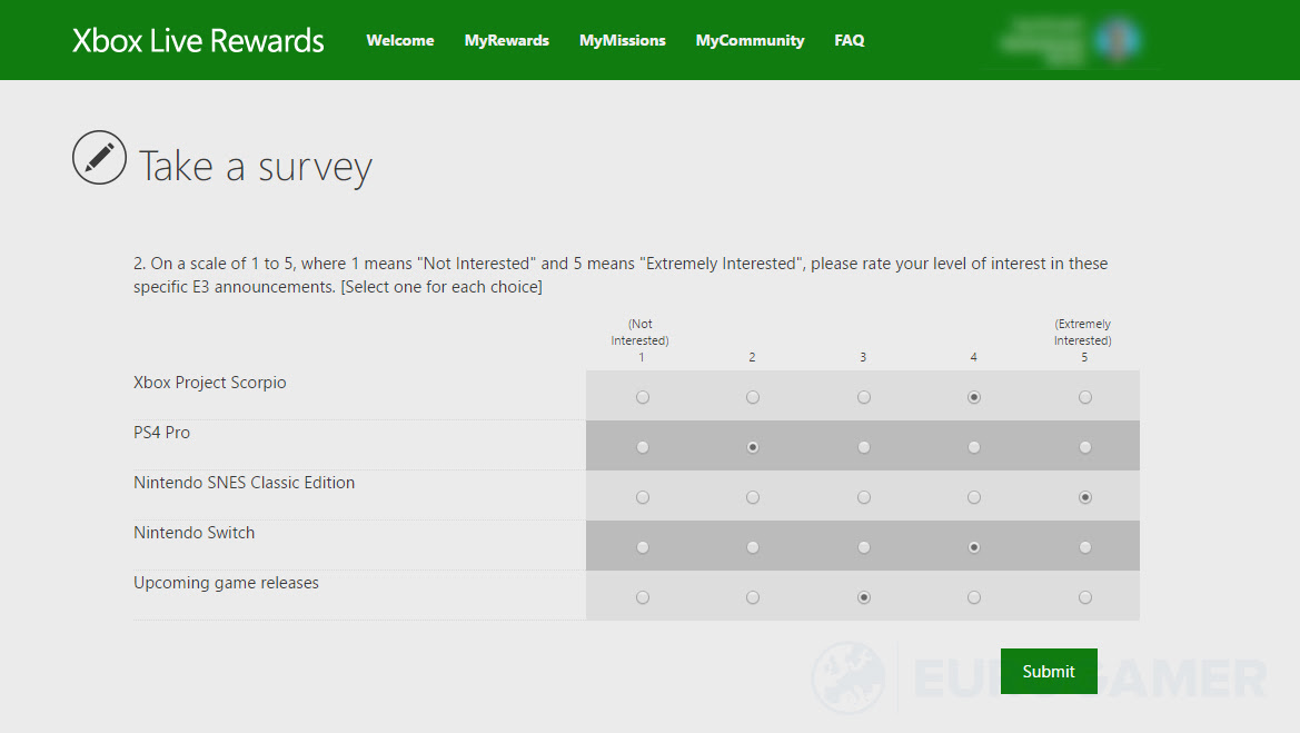 Official Xbox E3 survey comically asks us what we think of the unannounced SNES Classic Edition screenshot
