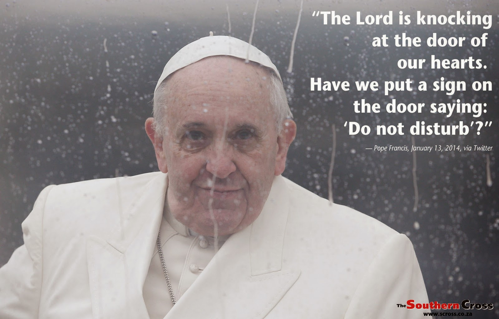 Pax On Both Houses Pope Francis There Are Two Ways Of Having