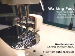 05 - Walking Foot (High Shank)