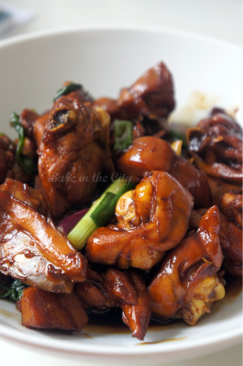 Braised Chicken with Galangal