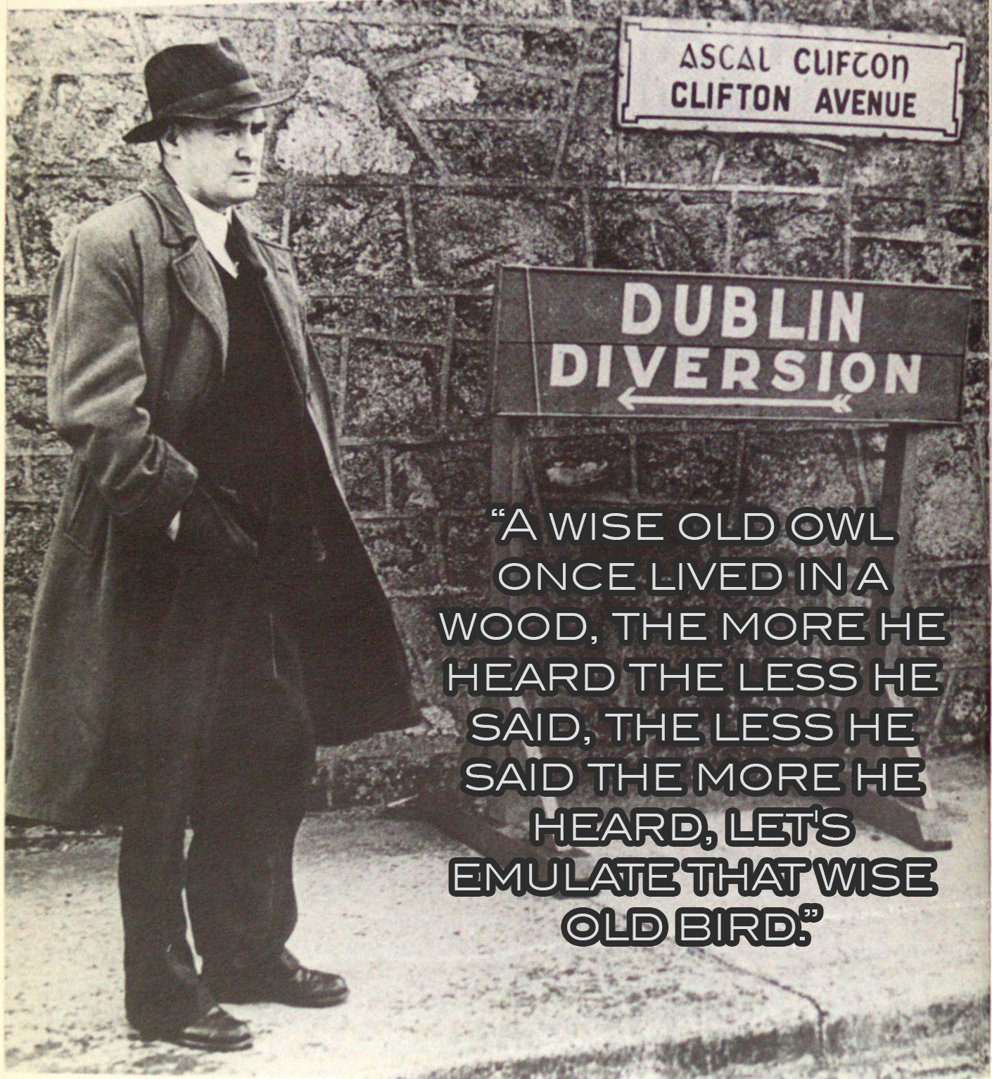 A Wise Old Man Once Said Flann Obrien Live By Quotes