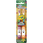 GUM Crayola Pip-Squeaks Toothbrushes, Ultrasoft 232 - 2 toothbrushes