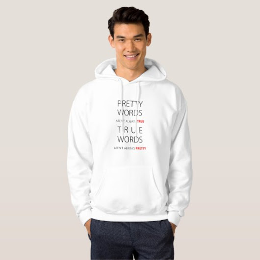 Pretty Words: the limits of beauty Hoodie