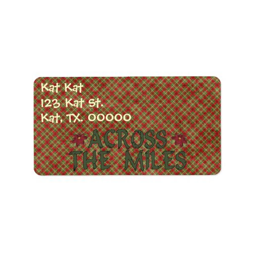 Thebrownfaminaz: Avery 8162 Christmas Labels