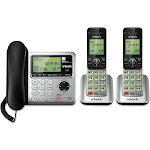 VTech CS6649-2 Expandable Phone System with 2 Handsets