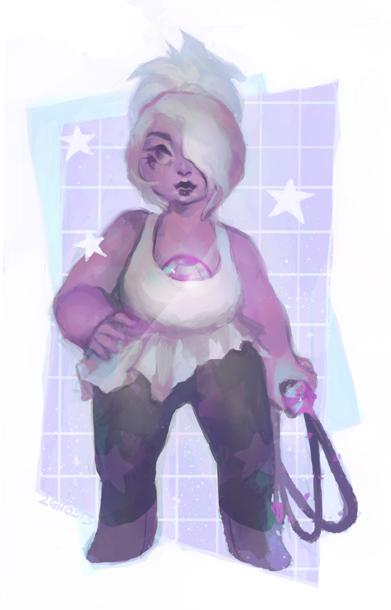 amethyst..with a ponytail?!!