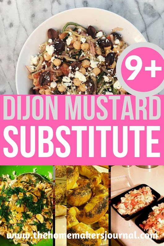 9+ Dijon Mustard Substitute - The Homemakers Journal