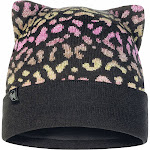 Buff Junior Knitted & Fleece Hat Alisa Black