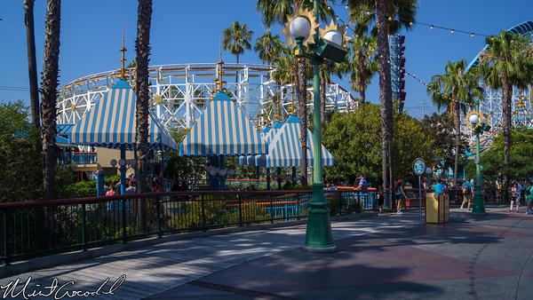 Disneyland Resort, Disney California Adventure, California Screamin', Single Rider