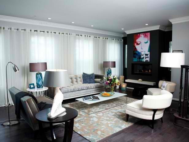 Urban Sophisticated Living Room Designs - Decoholic