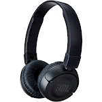 JBL T450BT Bluetooth Wireless On-Ear Headphones with Mic - Black