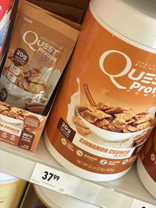 Fuel Your Bangin' Bosu Workout with Quest Cinnamon Crunch Protein Powder