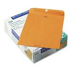 """Quality Park Clasp Envelope - Clasp - #97 [10"""" X 13""""] - 28 Lb - Gummed - Kraft - 100/box - Kraft (QUA37897)"""