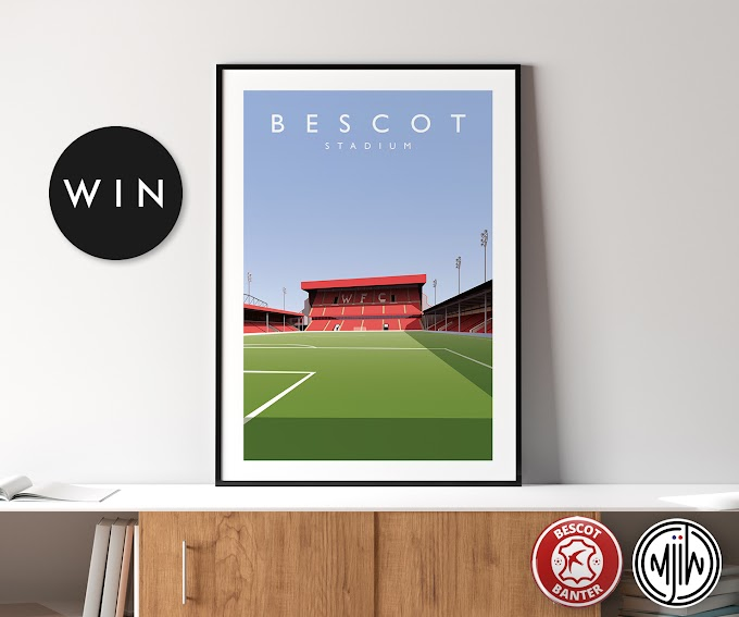 Competition: Your Chance to Win an A3 Poster of Banks's Stadium