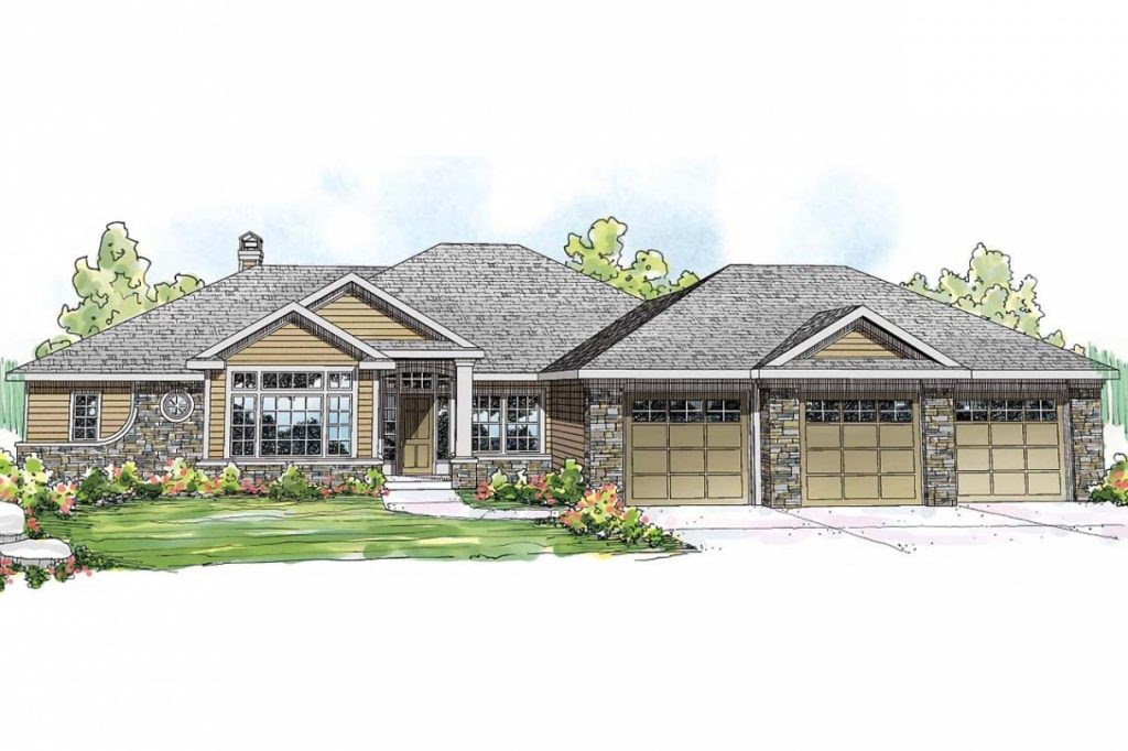 Best New Ranch Home Plans - New Home Plans Design