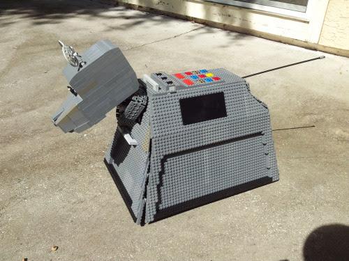 Lego K9 Mark II (complete, left) (by Lego_Joe)