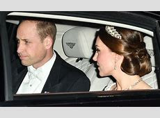 Kate Middleton wears Princess Diana's tiara to Queen's winter party   HELLO!