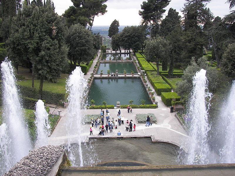 File:Villa d'Este fountain and pools.jpg